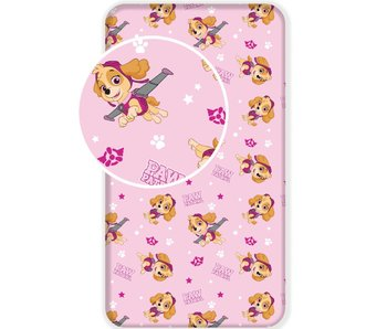 PAW Patrol Fitted sheet Skye 90x200 cm