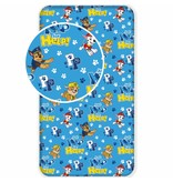 PAW Patrol HELP! - Fitted sheet - Single - 90 x 200 cm - Blue