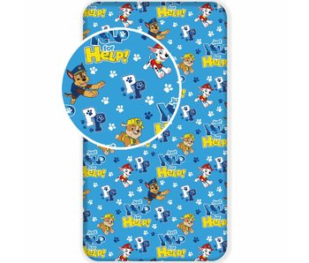 PAW Patrol Fitted sheet HELP! 90x200 cm
