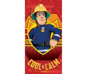 Brandweerman Sam Strandlaken Cool & Calm 70x140cm