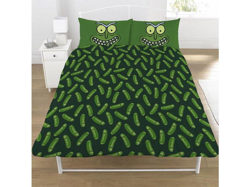 Rick and Morty Pickle Rick - Bettbezug - Doppel - 200 x 200 cm - Multi