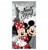 Disney Minnie Mouse New York - Strandtuch - 70 x 140 cm - Multi