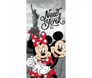 Disney Minnie Mouse Serviette de plage New York 70x140 cm