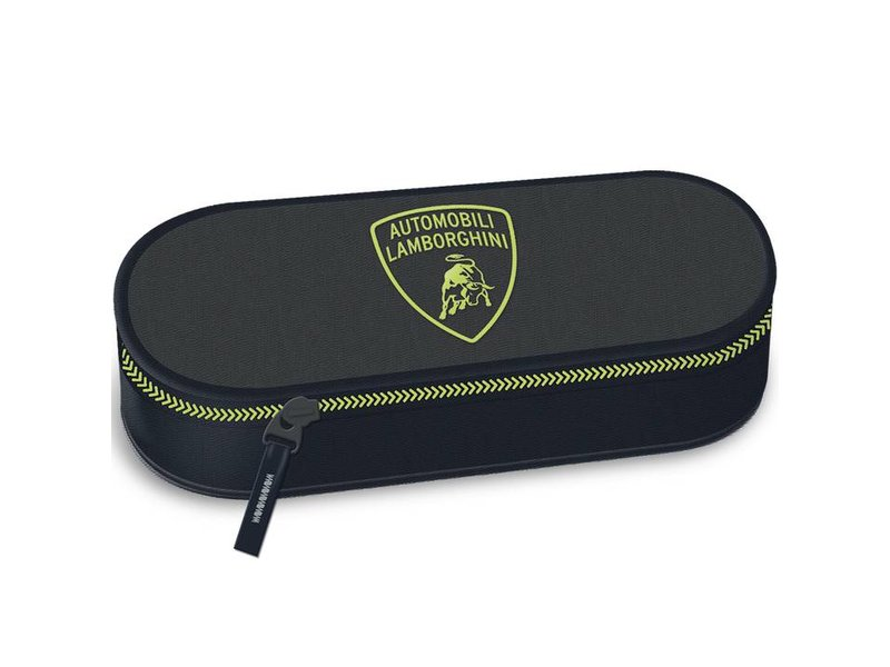 Lamborghini - Pencil Case - 23 x 9 x 6 cm - Black