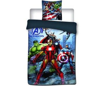 Marvel Avengers Dekbedovertrek Iron Man 140x200