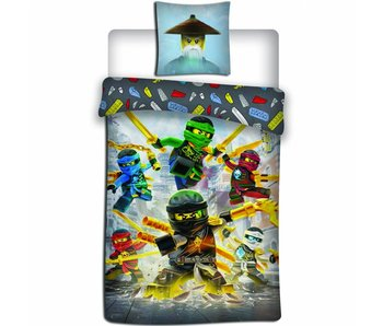 Lego Ninjago Bettbezug Align 140x200 cm
