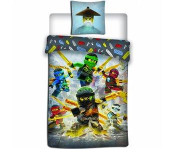 Lego Ninjago Dekbedovertrek Align 140x200 cm