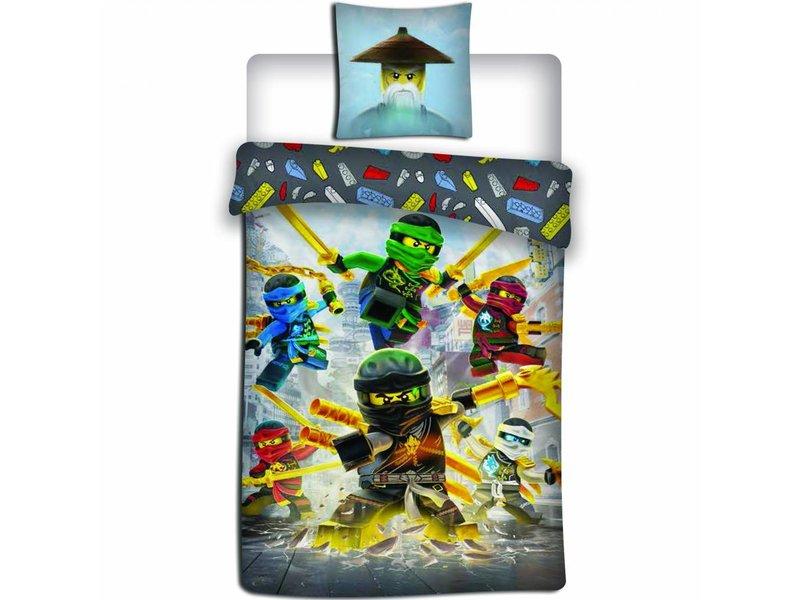 Lego Ninjago Align - Duvet cover - Single - 140 x 200 cm - Multi