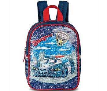 Police Magic Sequins Backpack 29 cm