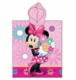 Disney Minnie Mouse Flowers - Poncho - 50 x 115 cm - Pink
