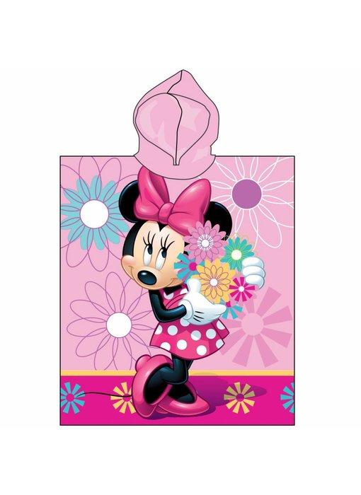 Disney Minnie Mouse Flowers Poncho 50x115 cm