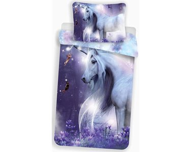 Unicorn Housse de couette Glow In The Dark 140x200 + 70x90cm