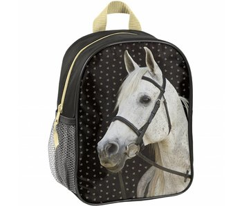Animal Pictures Toddler / Kindergarten Backpack Golden Horse 28cm