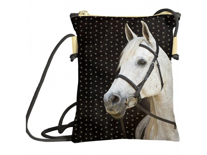 Animal Pictures Golden Horse - Small shoulder bag - 16 x 3 x 13,5 cm - Multi