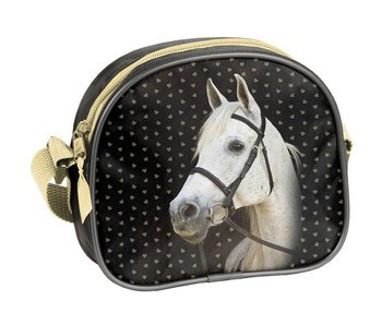 Animal Pictures Mini Handbag Golden Horse