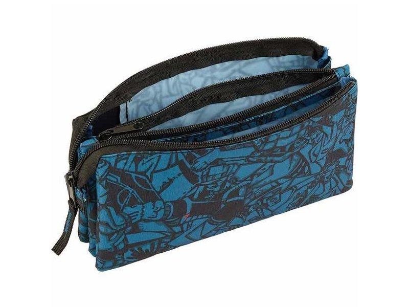 Ecko Unltd Blauw Design - Etui - 22cm - Multi
