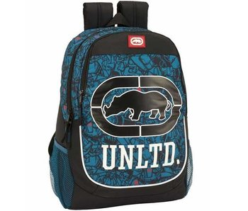 Ecko Unltd Backpack Blue Design 44 cm