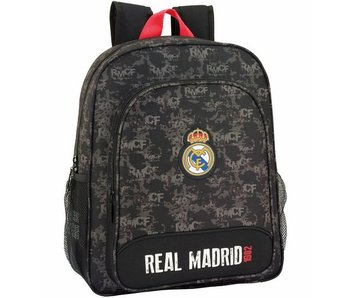 Real Madrid Junior Rucksack Rot Detail 38 cm