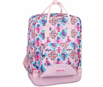 MOOS Flamingo Pink Backpack 38 cm