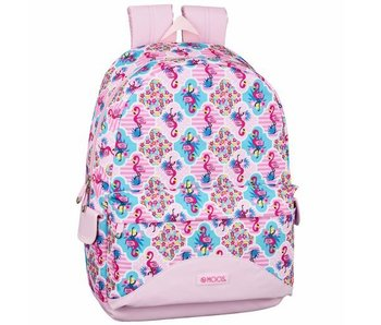 MOOS Flamingo Pink Laptop Backpack 15,6 '' 46 cm