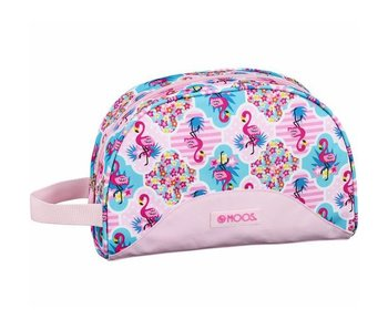 MOOS Trousse Flamingo Rose 28 cm