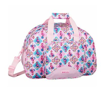 MOOS Sac de sport Flamingo Rose 48 cm