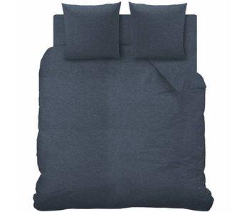 Matt & Rose Dekbedovertrek Jersey  Bleu Chiné 260x240 cm
