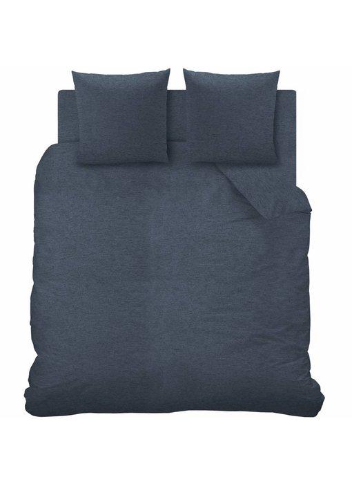 Matt & Rose Duvet cover Jersey Bleu Chiné 260x240 cm