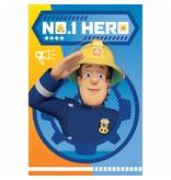 Brandweerman Sam Hero - Fleeceplaid - 100 x 150 cm - Multi