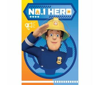 Brandweerman Sam Fleece-Plaid Held