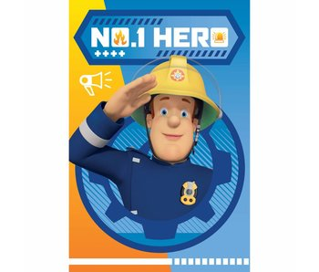 Brandweerman Sam Fleece plaid Hero