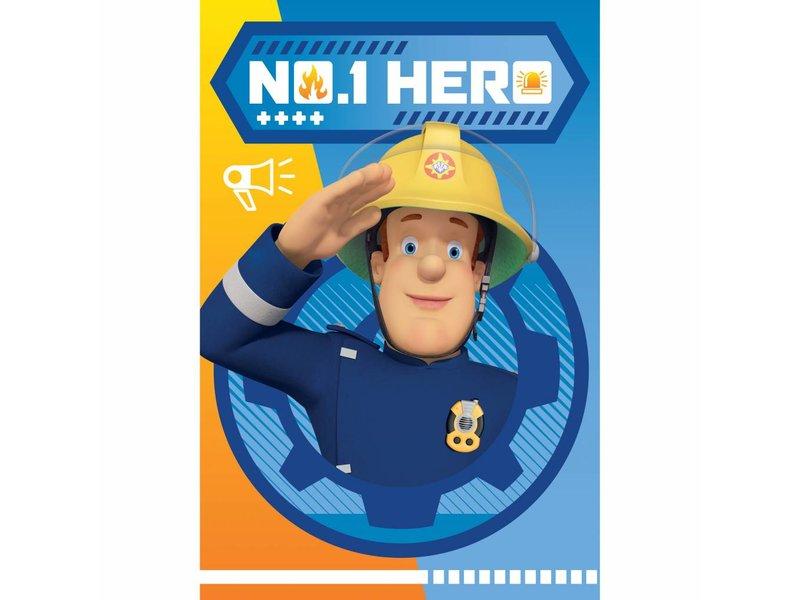 Brandweerman Sam Hero - Fleece plaid - 100 x 150 cm - Multi