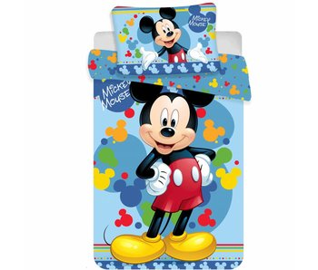 Disney Mickey Mouse Baby Bettbezug Happy