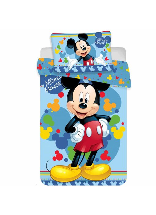 Disney Mickey Mouse Baby Dekbedovertrek Happy