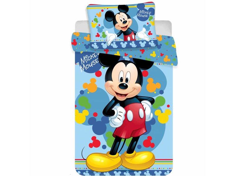Disney Mickey Mouse Happy - Baby Bettbezug - 100 x 135 cm - Multi