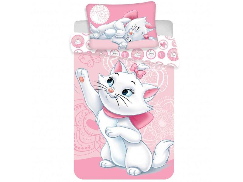 Disney Aristocats Kätzchen - Baby Bettbezug - 100 x 135 cm - Multi