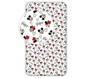Disney Minnie Mouse Fitted sheet Paris 90x200cm