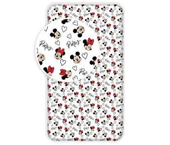 Disney Minnie Mouse Spannbetttuch Paris 90x200cm