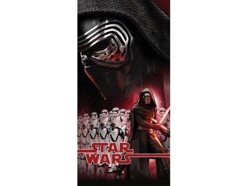Star Wars VII - Strandlaken - 70 x 140 cm - Zwart