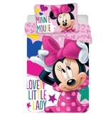 Disney Minnie Mouse Band - Baby Bettbezug - 100 x 135 cm - Multi