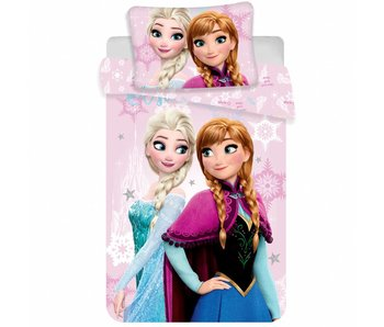 Disney Frozen Baby Bettbezug Pink 100x135cm