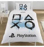 Playstation Inkwash - Dekbedovertrek - 135 x 200 cm - Eenpersoons - Multi