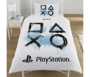 Playstation Dekbedovertrek Inkwash Eenpersoons