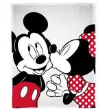 Disney Minnie Mouse Kiss - Fleecedecke - 130 x 160 cm - Weiß