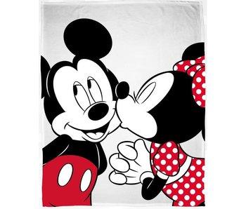 Disney Minnie Mouse Fleecedecke Kiss 130x160 cm
