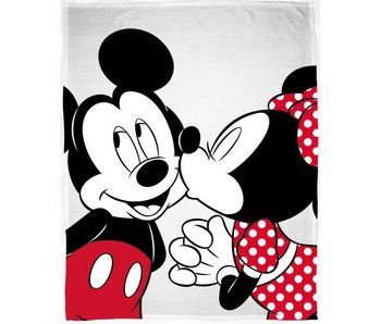 Disney Minnie Mouse Plaid polaire Kiss 130x160 cm
