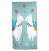 Lama - Beach towel - 70 x 140 cm - Multi