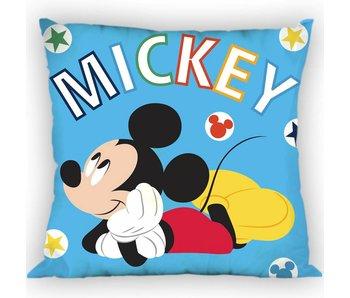 Disney Mickey Mouse Wurfkissen Blue 35x35 cm