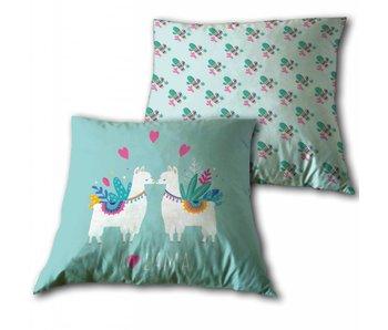 Lama Throw pillow 35x35 cm