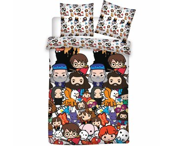 Harry Potter Duvet cover Emoji's 140x200 cm
